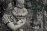 Юрмала 1949г. «Маменькин сынок с сестрой Людмилой»