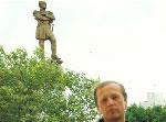 Хабаровск. Набережная Амура. Памятник Муравьёву-Амурскому